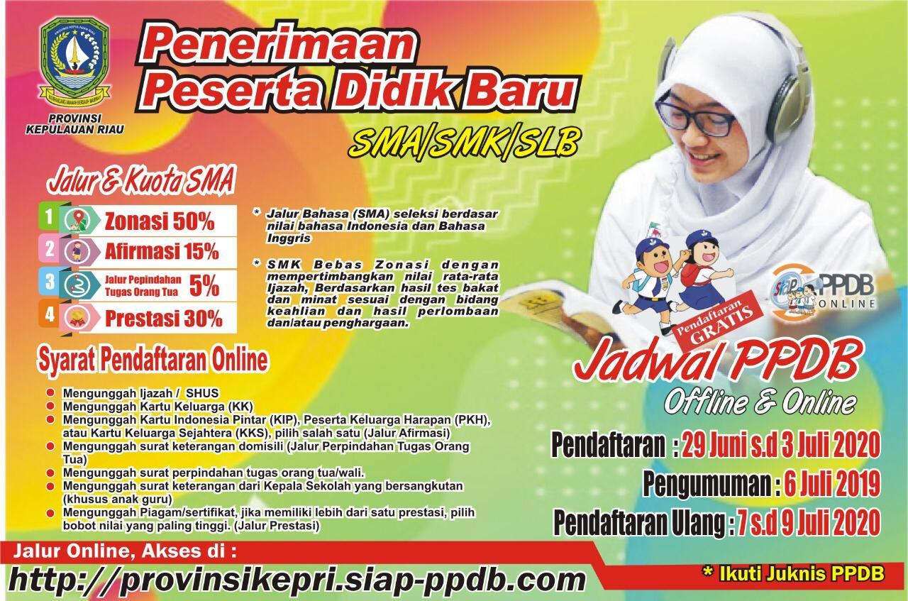 Juknis PPDB Dinas Pendidikan Provinsi Kepri